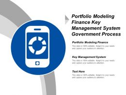 Portfolio Modeling Finance Key Management System Government Process Cpb