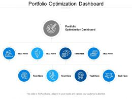 Portfolio Optimization Dashboard Ppt Powerpoint Presentation File Microsoft Cpb