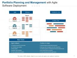 Portfolio Planning And Management With Agile Software Deployment