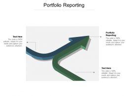Portfolio Reporting Ppt Powerpoint Presentation Layouts Graphics Design Cpb