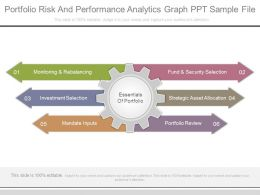 Portfolio Risk And Performance Analytics Graph Ppt Sample File