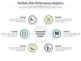Portfolio Risk Performance Analytics Ppt Powerpoint Presentation Infographic Template Designs Cpb