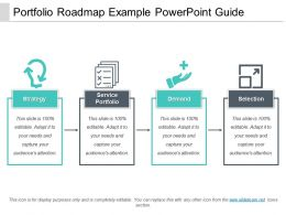 Portfolio Roadmap Example Powerpoint Guide
