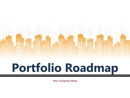Portfolio Roadmap Powerpoint Presentation Slides