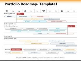 Portfolio Roadmap Ppt Powerpoint Presentation Inspiration Format Ideas