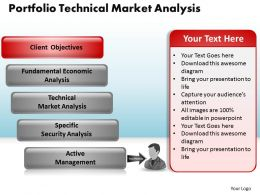 Portfolio Technical Market Analysis Powerpoint Slides And Ppt Templates DB