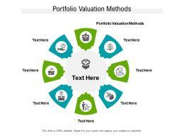 Portfolio Valuation Methods Ppt Powerpoint Presentation Ideas Influencers Cpb