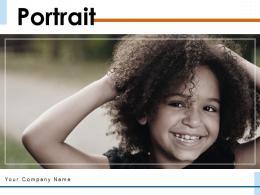 Portrait Depicting Individual Photography Presenting Symbol Illustration