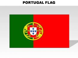 Portugal Country Powerpoint Flags