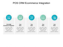 POS CRM Ecommerce Integration Ppt Powerpoint Presentation Inspiration Design Inspiration Cpb