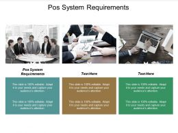 POS System Requirements Ppt Powerpoint Presentation Outline Background Cpb