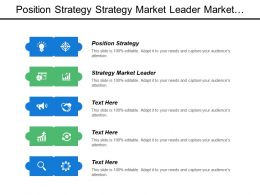 Position Strategy Strategy Market Leader Market Strategy Military Analogies