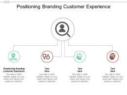 Positioning Branding Customer Experience Ppt Powerpoint Presentation Model Slides Cpb