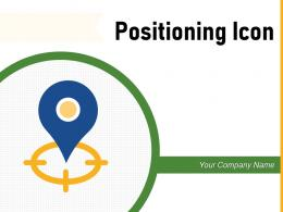 Positioning Icon Measure Progressing Business Individual Landmark