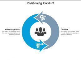 Positioning Product Ppt Powerpoint Presentation Model Portfolio Cpb
