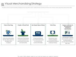 Positioning Retail Brands Visual Merchandising Strategy Ppt Powerpoint Presentation Show Skills