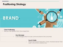 Positioning Strategy Ppt Topics