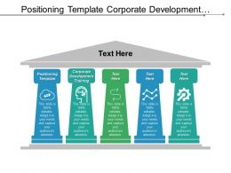 Positioning Template Corporate Development Training Management Agile Cpb