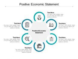 Positive Economic Statement Ppt Powerpoint Presentation Show Portrait Cpb