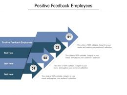 Positive Feedback Employees Ppt Powerpoint Presentation Outline Visual Aids Cpb