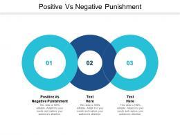Positive Vs Negative Punishment Ppt Powerpoint Presentation Slides Guidelines Cpb