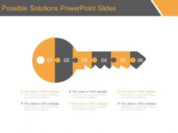 Possible Solutions Powerpoint Slides