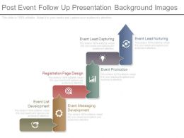 Post Event Follow Up Presentation Background Images