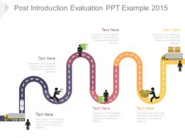Post Introduction Evaluation Ppt Example 2015