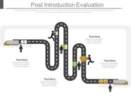 Post Introduction Evaluation Ppt Slides