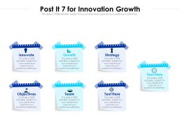 Post It 7 For Innovation Growth