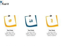 Post It Audiences Attention M1503 Ppt Powerpoint Presentation Icon Styles