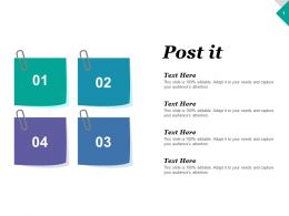 Post It Education Communication Ppt Inspiration Graphics Example