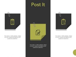 Post It Education Planning Ppt Powerpoint Presentation Styles Master Slide