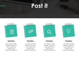 Post It Education Ppt Powerpoint Presentation Gallery Sample