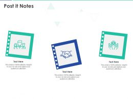 Post It Notes 1459 Ppt Powerpoint Presentation Icon Summary