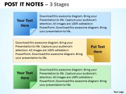 POST IT NOTES 3 Stages 6