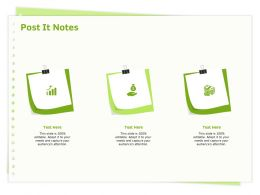 Post It Notes Attention M305 Ppt Powerpoint Presentation Summary Topics
