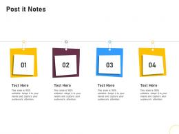 Post It Notes Brand Renovating Ppt Guidelines