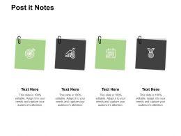 Post It Notes Business Management K380 Powerpoint Presentation Maker