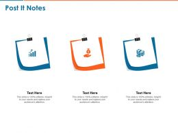 Post It Notes C1444 Ppt Powerpoint Presentation Slides Examples