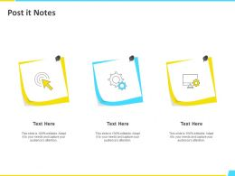 Post It Notes Capture H114 Ppt Powerpoint Presentation File Rules