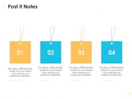 Post It Notes Case Competition Ppt Graphics
