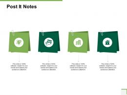 Post It Notes Community Bank Overview Ppt Powerpoint Presentation Gallery Infographics