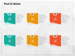 Post It Notes Editable M626 Ppt Powerpoint Presentation Infographics Themes