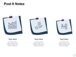 Post It Notes Education A136 Ppt Powerpoint Presentation Icon Graphics