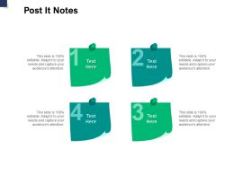 Post It Notes Education A770 Ppt Powerpoint Presentation Inspiration Elements