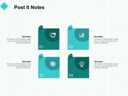 Post It Notes Education Ppt Powerpoint Presentation Summary Graphics