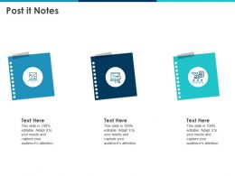 Post It Notes Icons Agenda N18 Ppt Powerpoint Presentation Slides Tips