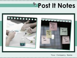 Post It Notes Infographic Information Inspiration Planning Product Development