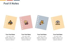 Post It Notes Knowledge K271 Ppt Powerpoint Presentation Template Model